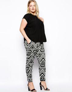 ASOS printed trousers